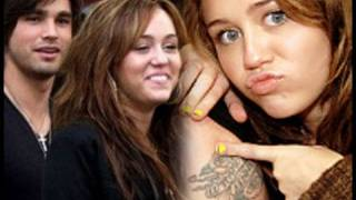 Miley Cyrus Gets A Tattoo of Justin's Initials ?!?!!