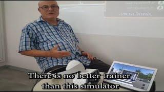 חכם בדרכים בטיחות בדרכים מציאות מדומה Road safety coordinator testimonial