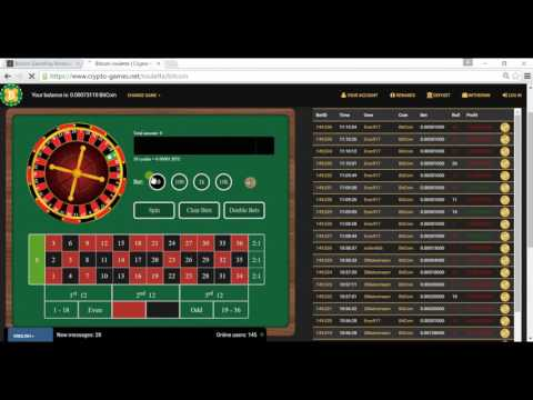 Bitcoin Gambling | Double or Nothing | Crypto Games!