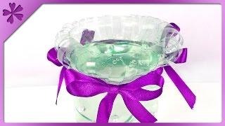 Diy Wazon Z Butelki / Plastic Bottle Flower Vase (+eng Subtitles) - Na Szybko #121