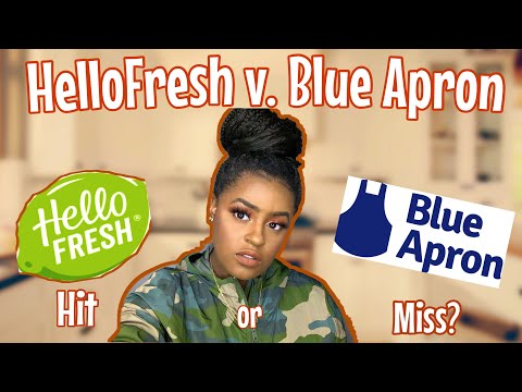 I ORDERED A BOX OF BUGS?| HELLO FRESH VS BLUE APRON REVIEW (COOKING ASMR)