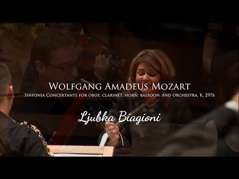 W. A. Mozart Sinfonia Concertante for oboe, clarinet, horn, bassoon, and orchestra, K. 297b