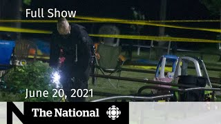Birthday party shooting, Vaccine target met, Canada Day plans   The National for June 20, 2021