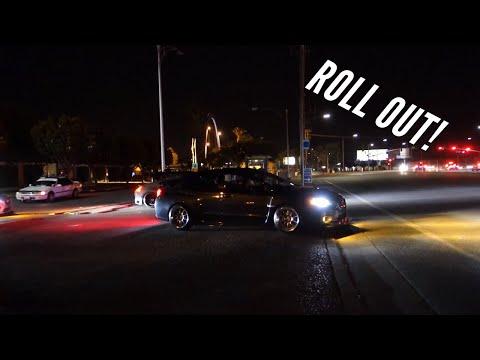 Cars Leaving Hot Import Nights San Jose 2017