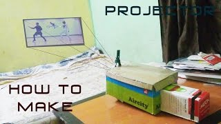 How  to make mobile projector at Home With a box