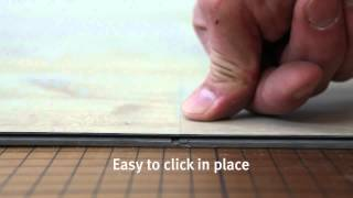 Installation of LVT flooring with 5G® Fold Down