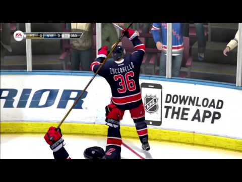 NHL Legacy - Updated Rosters and Sounds - New York Rangers