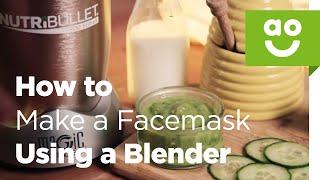 Wie man eine Gesichtsmaske Mit einem Nutribullet | ao.com