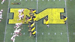 2015 Michigan vs. Rutgers Highlights