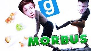 SPYCHAM GABORA Z KLIFU PODCZAS JEGO GRUBIAŃSKIEGO POSIŁKU!   Garry's mod [#794] - MORBUS [#5]