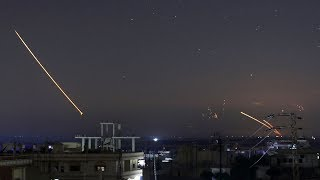 Israel strikes Iranian targets in Syria