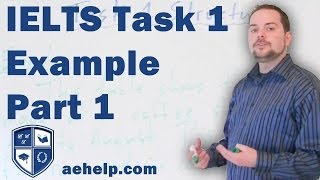 IELTS writing task 1 structure with example part 1