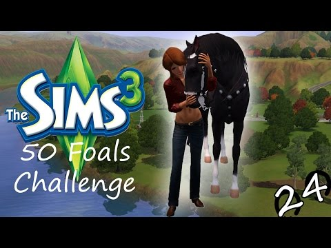 Let's Play: The Sims 3 50 Foals Challenge - Part #24 - Big Foot?
