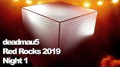 deadmau5 at Red Rocks, Night 1 - November 1, 2019