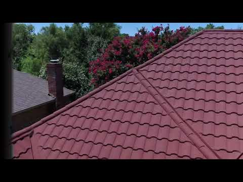 Roman Roof Tile: Stone Coated Zinc Aluminum