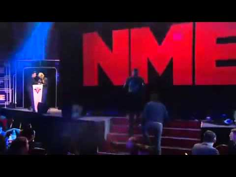 The Killers speech @ Best International Band NME Awards 2013