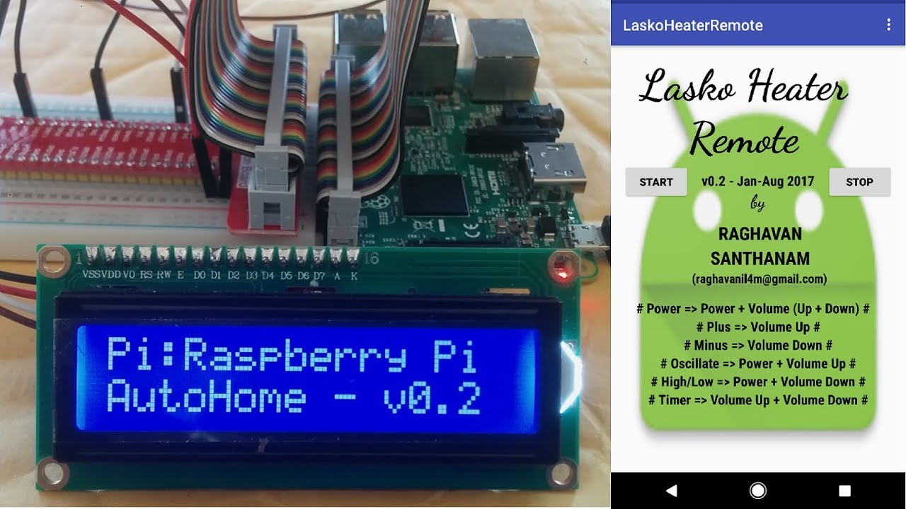 Control home appliance using phone - AutoHome - Raspberry Pi version - IoT  for Home Automation