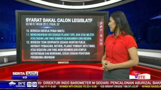 Syarat-syarat Bakal Calon Legislatif