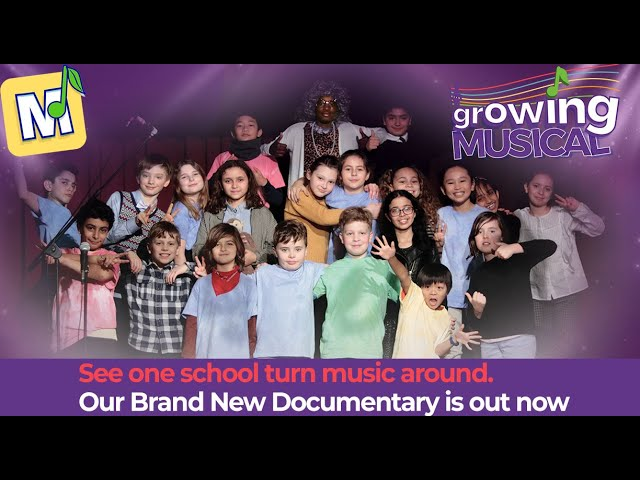 Growing Musical Documentary Trailer: HOW LEARNING MUSIC TRANSFORMED A PRIMARY SCHOOL.
