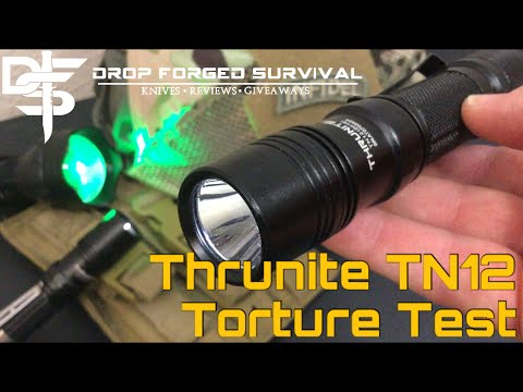 Thrunite TN12 (2016) Full Torture Test and Review
