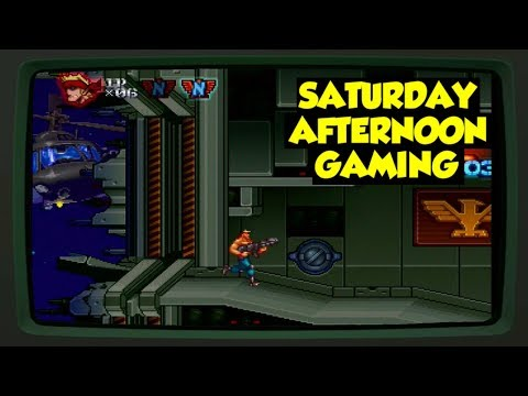Contra Rebirth (Wii) - It's Time to Attack Aggressively!! - Saturday Afternoon Gaming