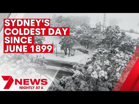 A snow dump across New South Wales   7NEWS