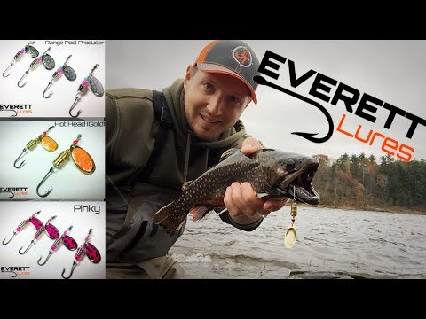 Fall Trout Fishing SPINNERS - EVERETT LURES!