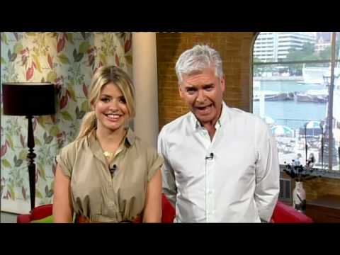 Gino D'Acampo 'Bloopers' and Holly Willoughby shows her Swarovski Crystal Pedicure plus more...