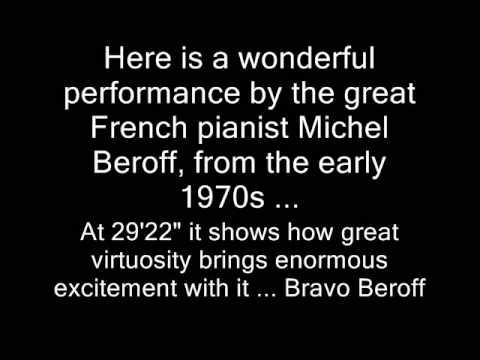 Prokofiev Piano Concerto No 2 - I-IV - Michel Beroff - Kurt Masur  - Orchester Leipzig - 1974