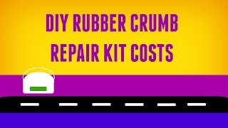 Diy Rubber Crumb Repair Kit Costs