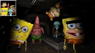 Sponge Hospital. Five Nights at Bob 3D (by MC Games Studio) / Android Gameplay HD