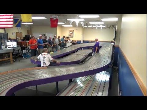 Slotcar F1 2016 Final Race Gator Region Retro Racing