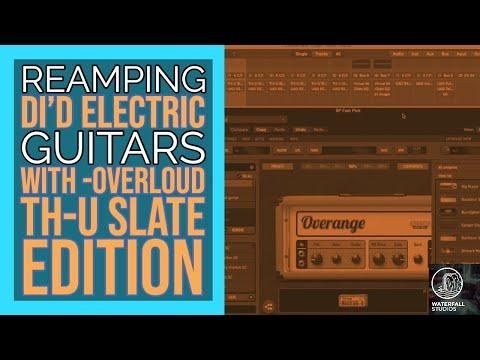Singer Songwriter -Re-amping Electric Guitar Recordings
