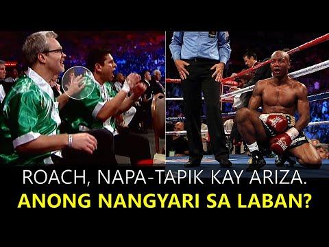 Roach Napatapik kay Ariza. Bakit, Anong nangyari sa Laban?