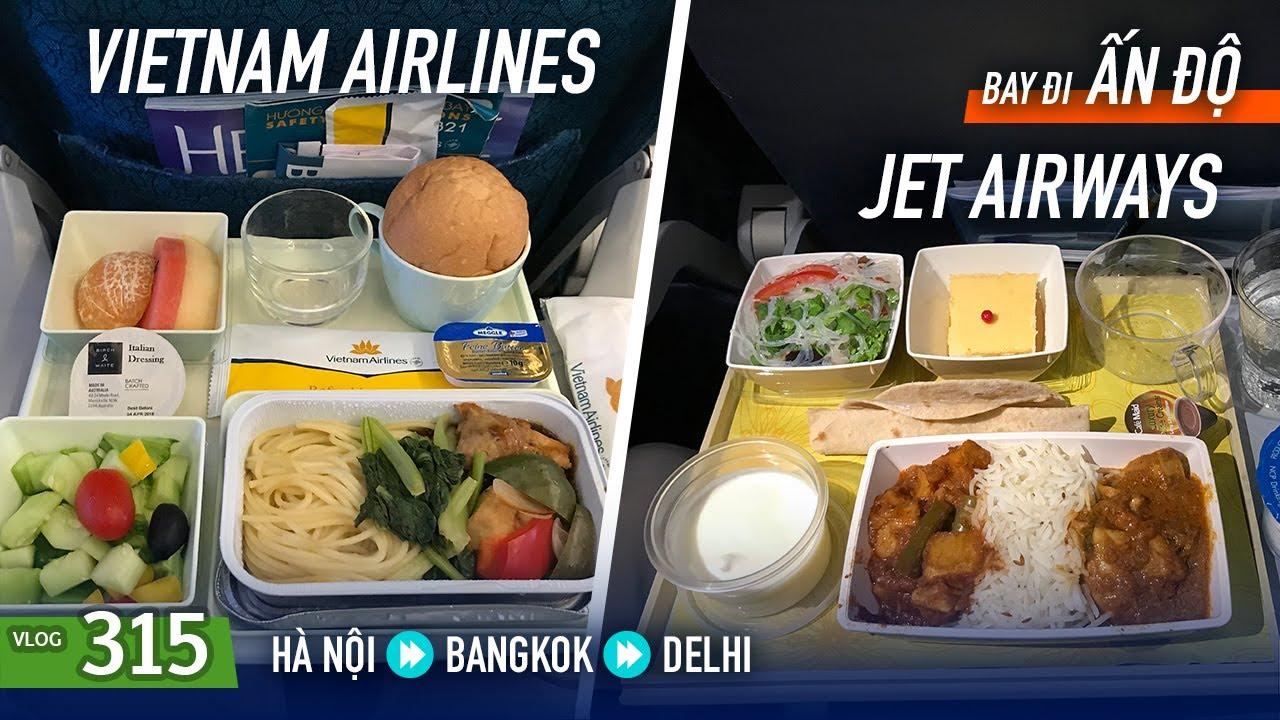 [M9] #315: Ăn cơm cà ri trên máy bay đi Ấn Độ | Yêu Máy Bay