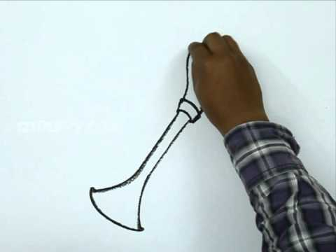 how to draw dragon horns