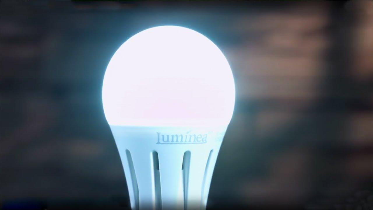 Luminea LED-Lampe E27, 15 Watt, 1350 Lumen, A+, tageslichtweiß 6.500 ...