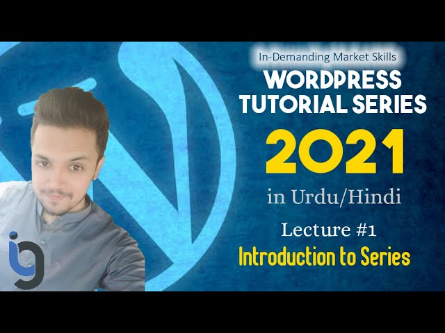 1. Introduction to Series   WordPress Series by IG