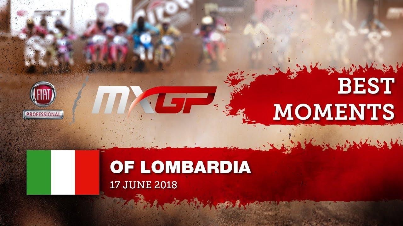MXGP Best Moments - FIAT Professional MXGP of Lombardia 2018   #motocross