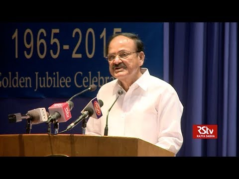 Free media is the cornerstone of democracy: Vice President Naidu