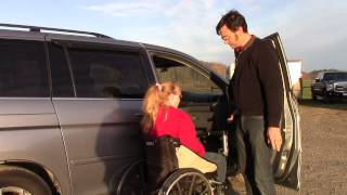 Multi-Lift Disability Handicap Lift with Speedy-Bar in Honda Odyssey