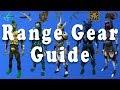 Comprehensive Range Gearing Guide - Runescape 3