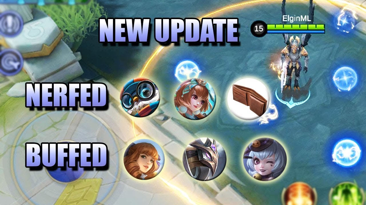 NEW UPDATE FOR REVAMPED HEROES - PATCH NOTES 1.3.56 MOBILE LEGENDS