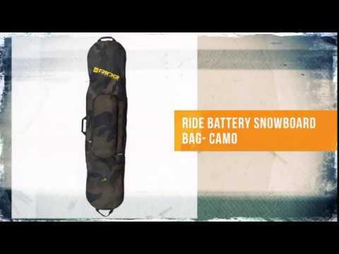 Ride Battery Snowboard Bag Camo Theski