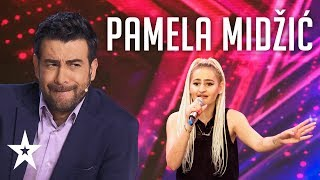 Pamela Midžić wants to be a singer│Supertalent 2019│Auditions