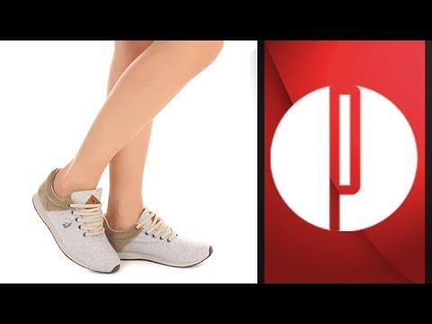 1ac606b76 Tênis Jogging Feminino Polo Royal - 7240195305 - YouTube
