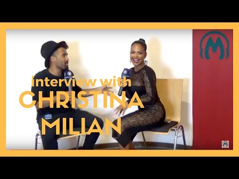 Christina Milian claps back at Nivea about dating Lil Wayne/The-Dream | Interview