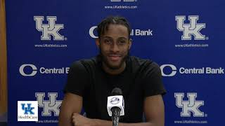 MBB: Isaiah Jackson- South Carolina Postgame