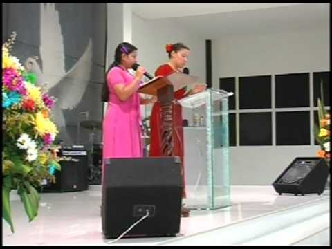 Possessing the promise of the Lord all together (Sister Olga Cepeda)