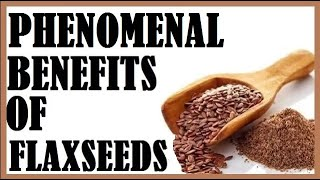 The Incredible Benefits Of Flaxseeds! Dr Michael Greger